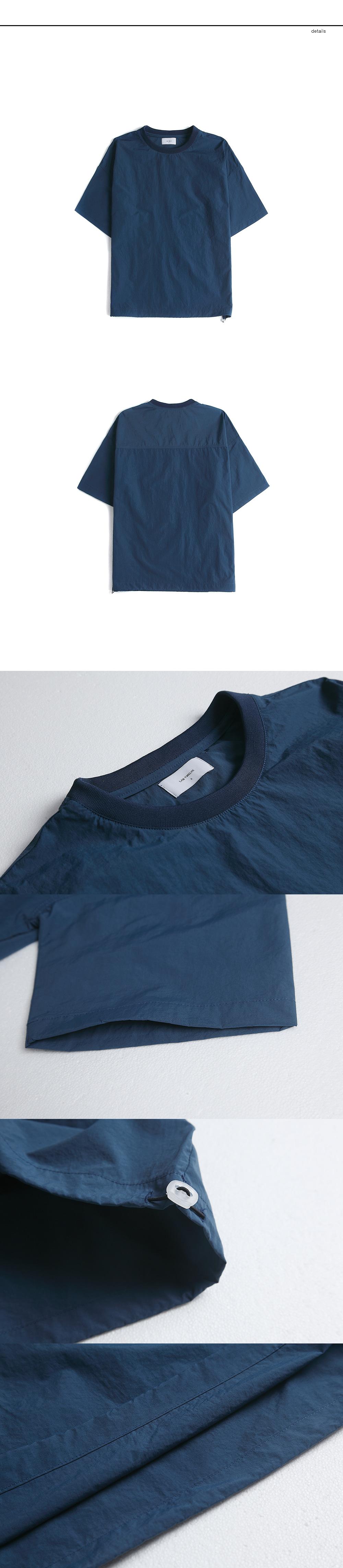 랩12(LAB12) 19S/S 이지 나일론 티셔츠 (블루)